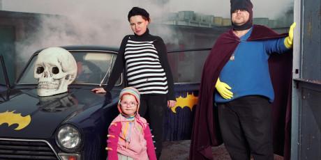 Super héroes y Dita Pepe