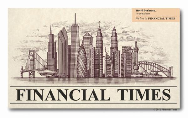 Ilustración de Steven Noble para el Financial Times