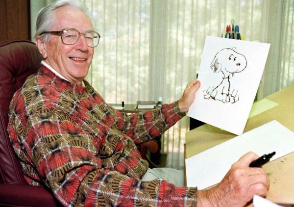 Charles Schulz, el creador de Snoopy