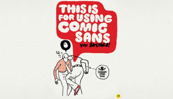 Odiar la Comic Sans