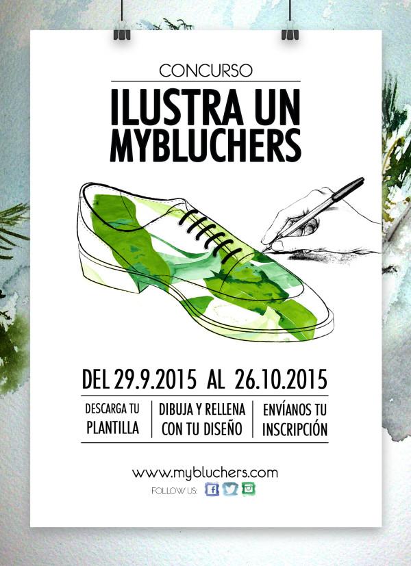 cartel promo concurso ilustracion mybluchers