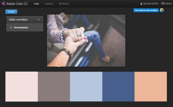 modificar los colores
