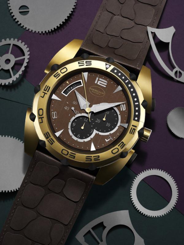 Reloj  de papel de Fideli