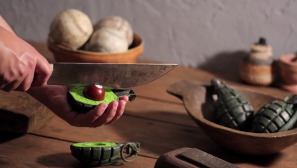 fotograma del cortometraje fresh guacamole
