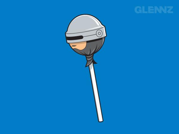 robocop lollypop glennz