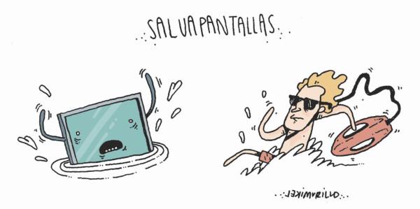 Salvapantallas, por Mikel Murillo
