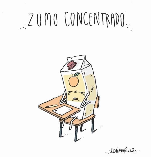 Zumo concentrado, por Mikel Murillo