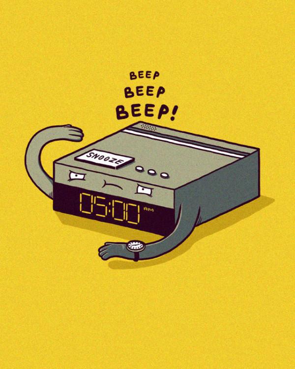 Despertador despertando de Randy Otter