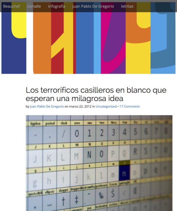 blog de Juan Pablo