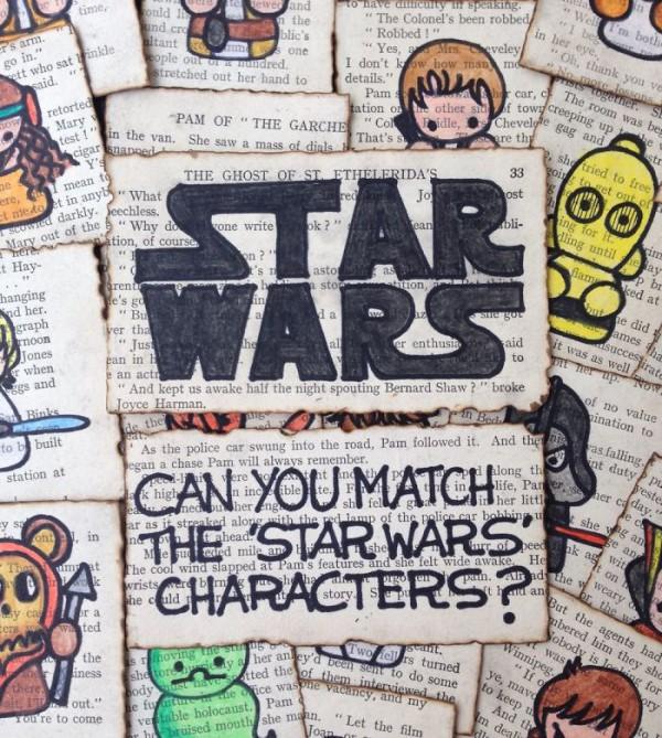 juego hecho a mano star wars