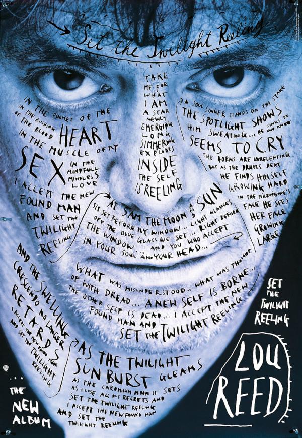 El disco de Lou Reed de Steffan Sagmeister
