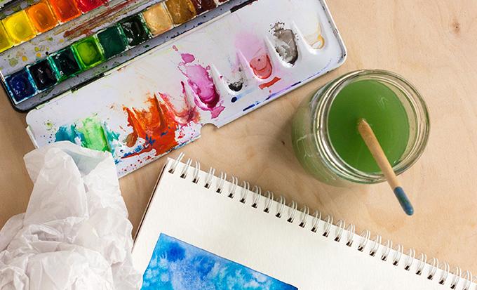 8 tutoriales para aprender a pintar con acuarela - SLEEPYDAYS