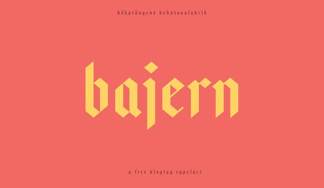 descargar-tipografia-gratuita-bajern
