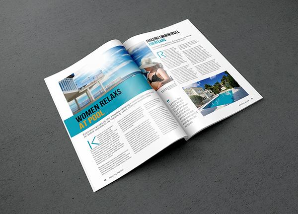 square magazine mockup psd free download