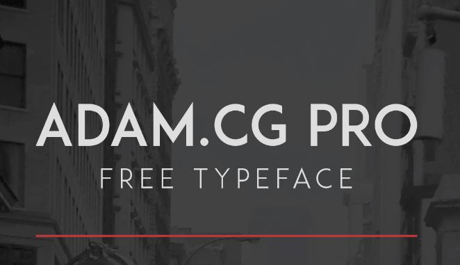 tipografia-descargar-adam-cg-pro