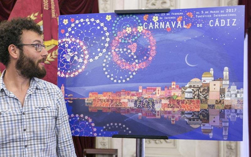 ganador cartel carnaval cadiz 2017