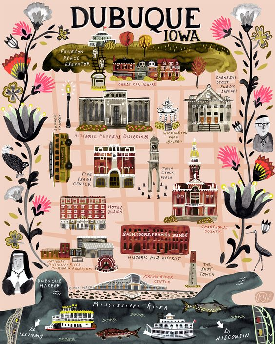 illustrated maps book carolina amell mapas ilustrados 2