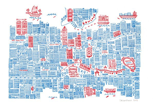 illustrated maps book carolina amell mapas ilustrados 8