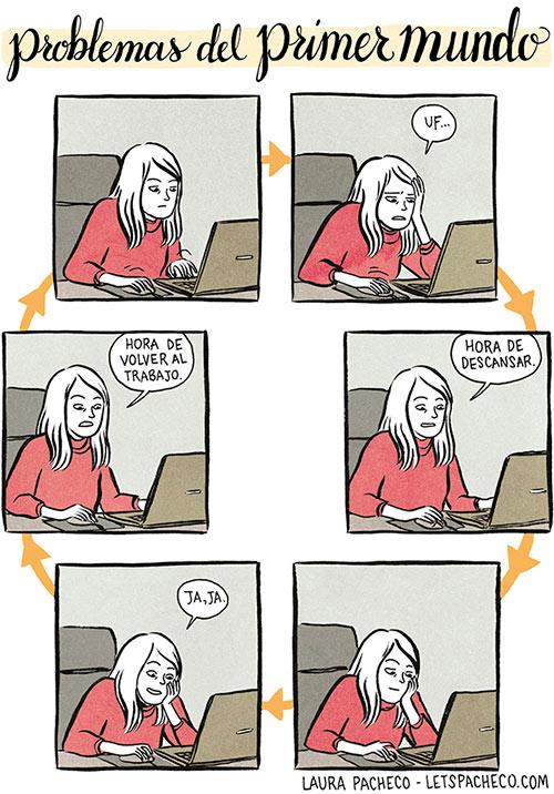 laura pacheco humor dibujante