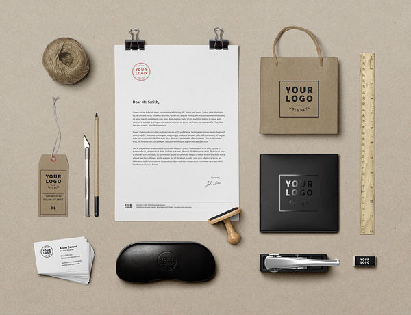 mockup gratis papeleria corporativa branding 01