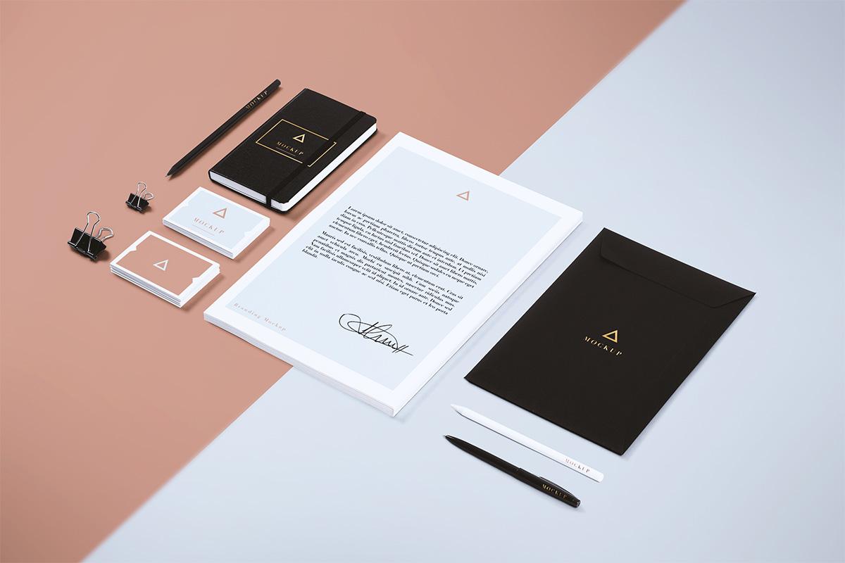 mockup gratis papeleria corporativa branding 05