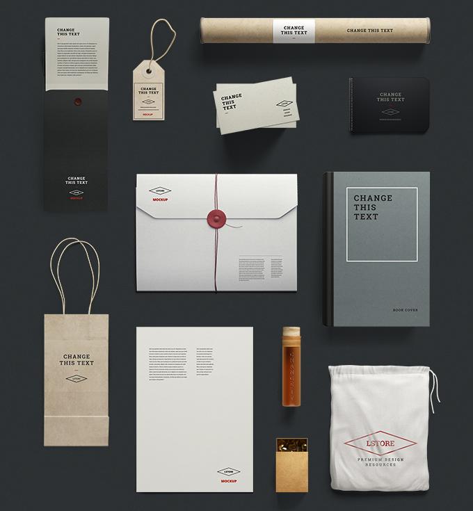 mockup gratis papeleria corporativa branding 07