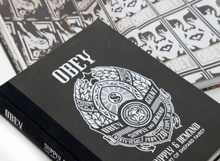 obey supply and demand book libro art of shepard fairey 0