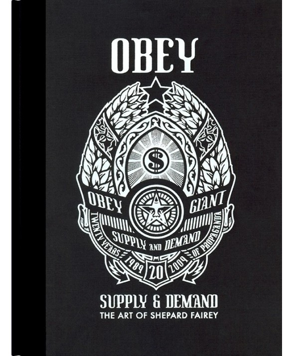 obey supply and demand book libro art of shepard fairey 1