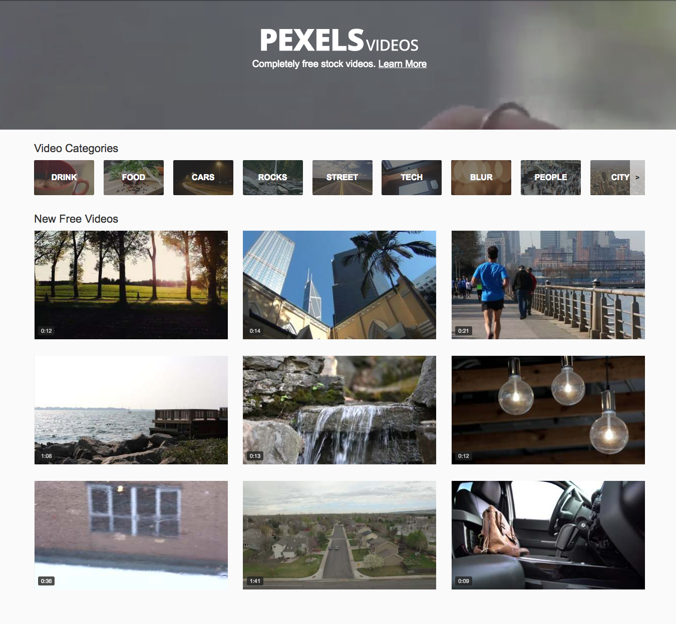 pexels recursos videos stock
