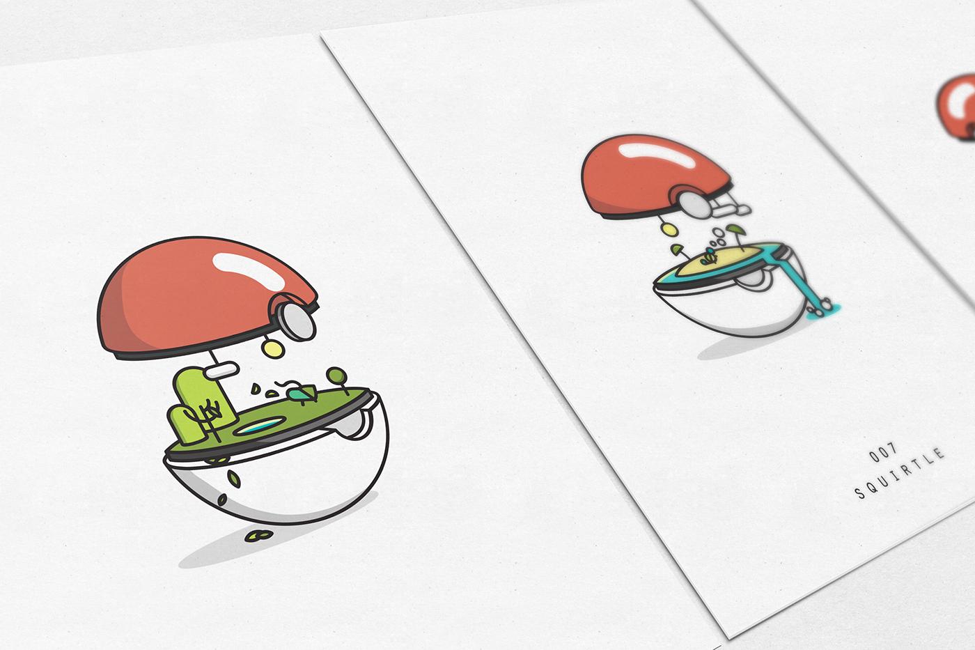 bio pokemon pokeballs quillo creative crosby 00