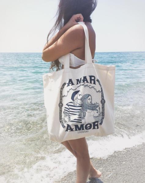 concurso ganar bolsa tela tote bag loveratory
