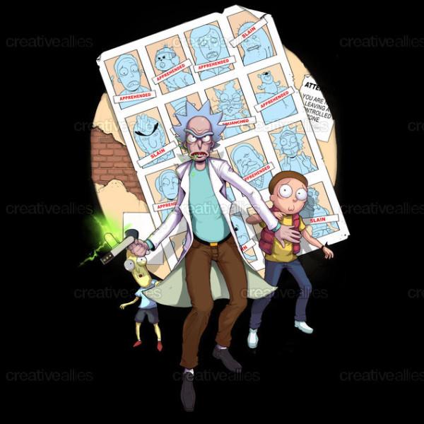 ganador concurso ilustracion rick y morti