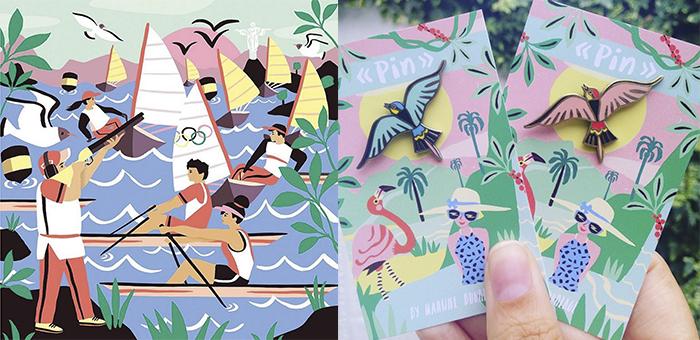 Marijke Buurlage ilustra con buen gusto y paletas de color