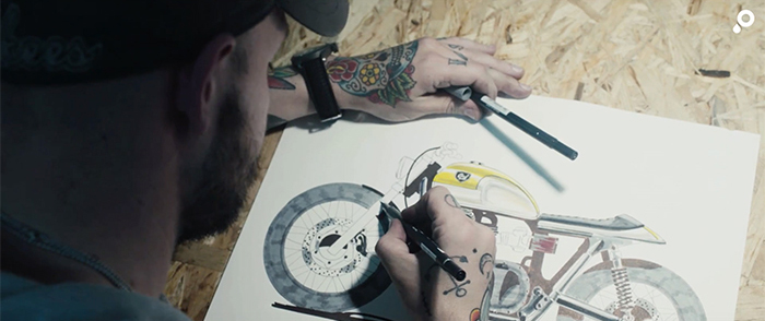 Cafe Racer Dreams llevan a cabo su sueño de diseñar y personalizar de motos