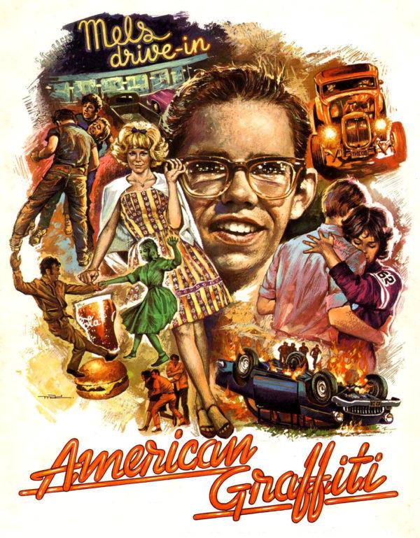 mac macario gomez poster american graffiti