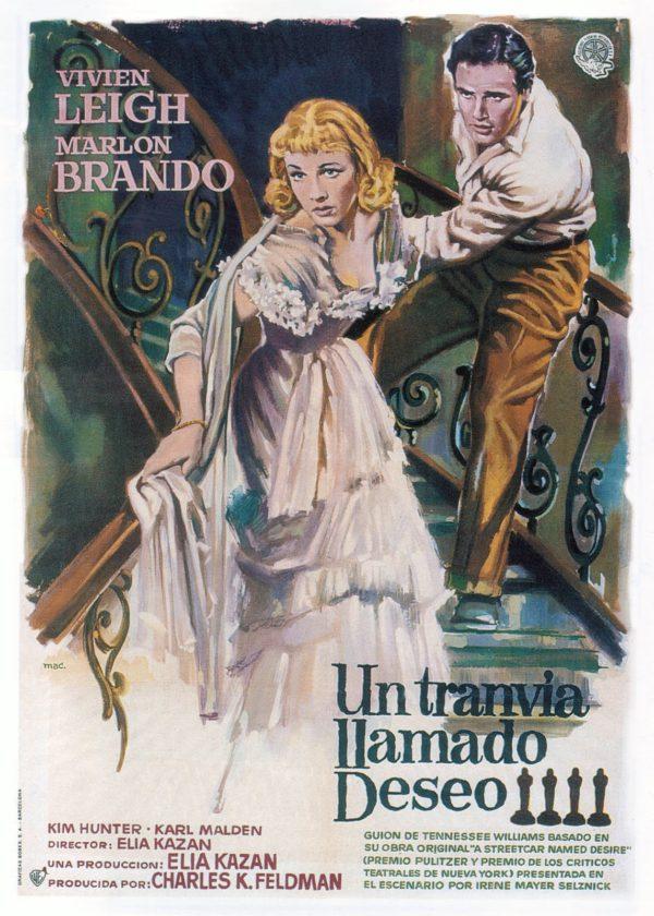 mac macario gomez poster tranvia deseo