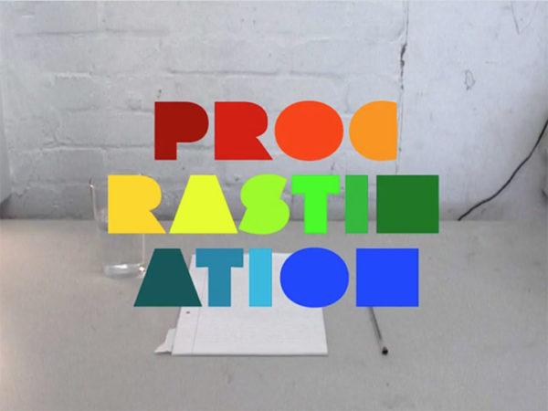Procrastination   vídeo de Jphnny Kelly