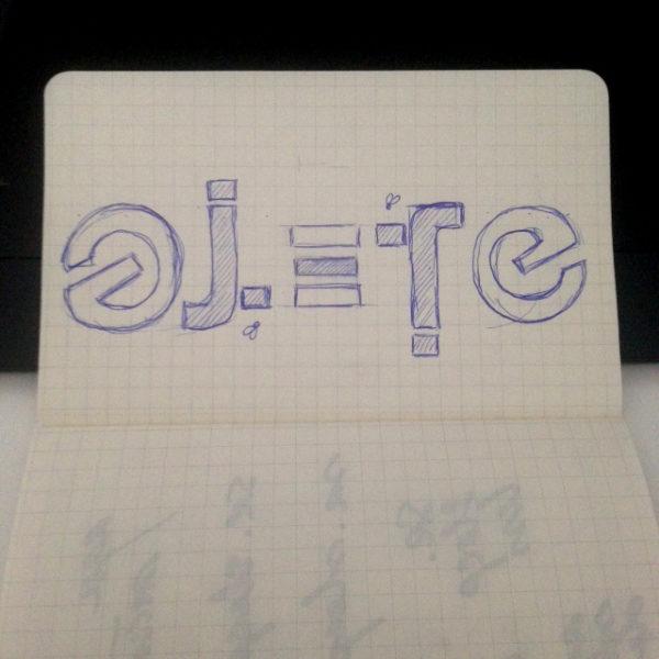 ambigrama-ojete-srsleepless