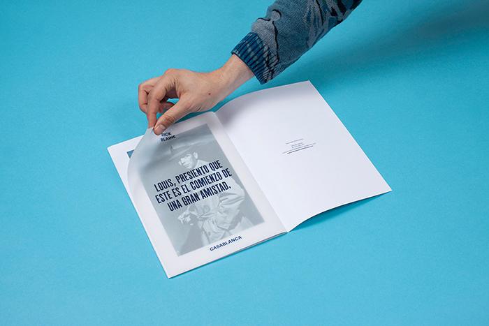 Diseño editorial para La Base Cine