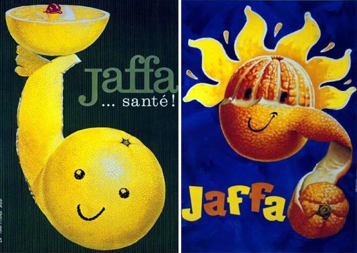 Carteles de Josep Artigas para Jaffa