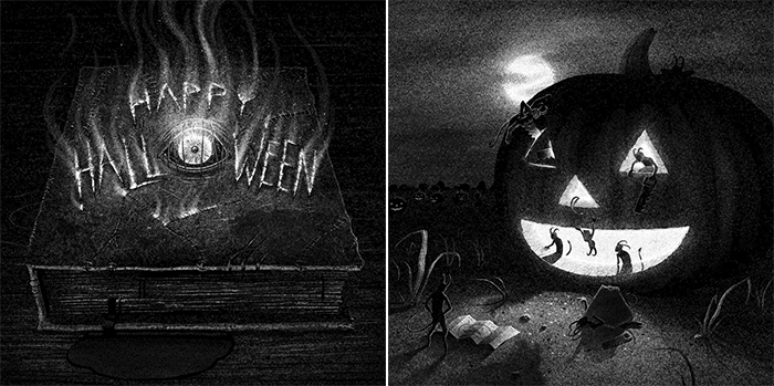 Dralloween Brian Luong ILLUSTRATION