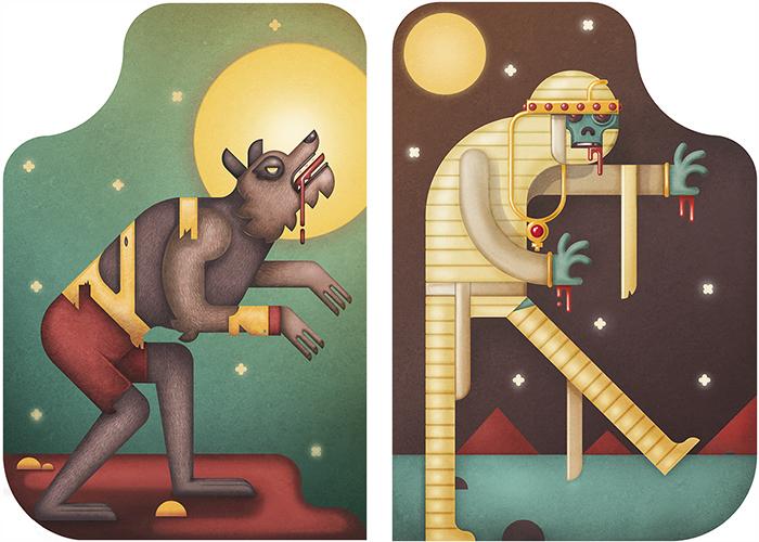 Ilustración Halloween Muti Studio