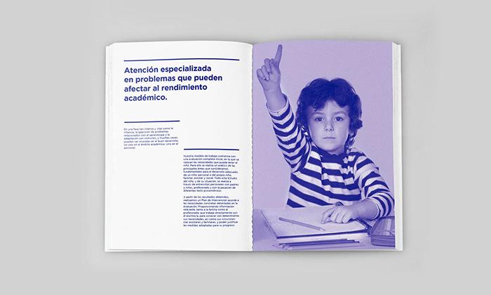 Página interior- Rubio y del Amo Branding para Ejemplo