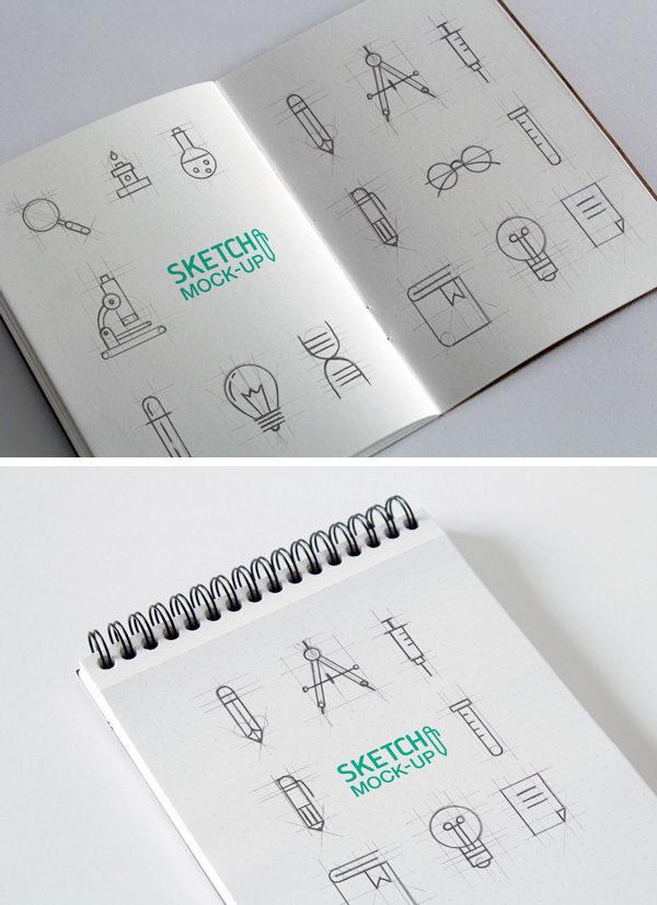 mockups para infografía sleepydays