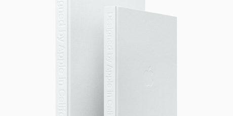 Designed by Apple in California, cubiertas del libro