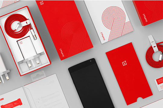 Diseño del packaging para Oneplus Phone 2, por Mash Creative