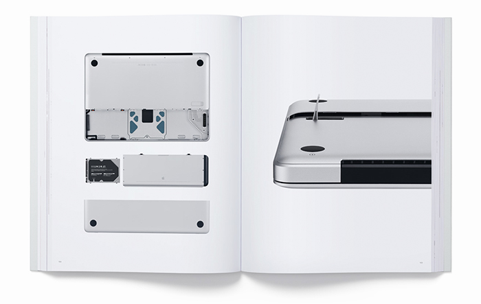 Detalle MacBook - Apple libro diseño