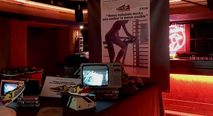 Presentacion Joma Retro 367 en la Vía Láctea de Madrid Imagen vía Kicks Off