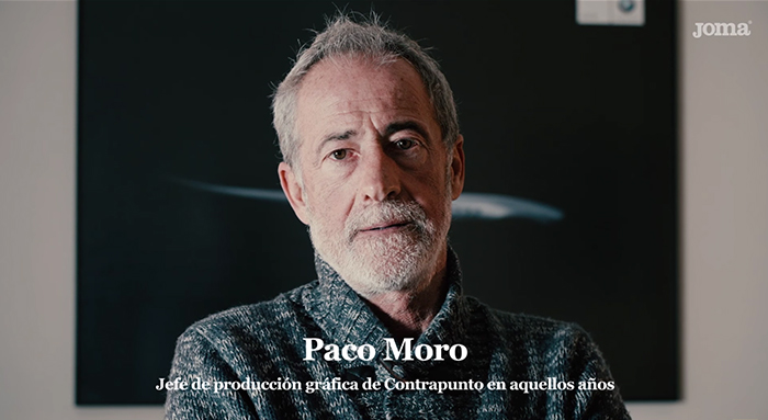 Paco Moro - anuncio Joma 80 Retro 367