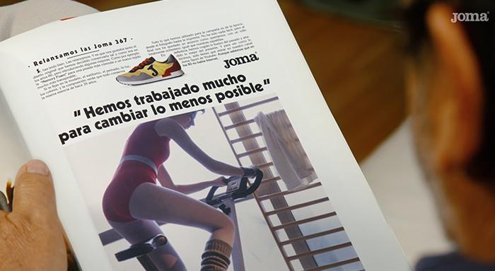 Para revista - anuncio Joma 80 Retro 367